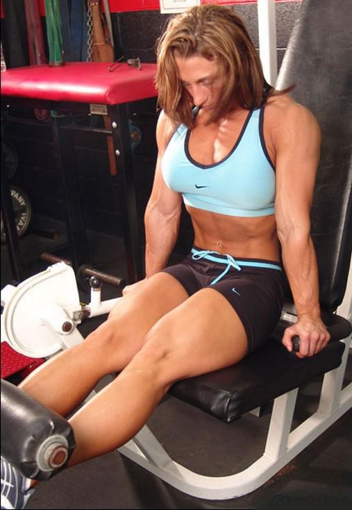 gym work  courtney shiflett