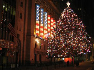 Christmas Eve stock market open wall street