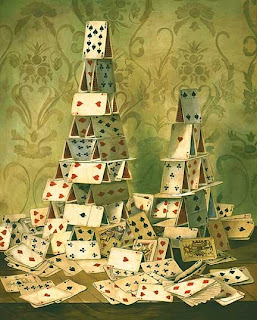 stock market house of cards