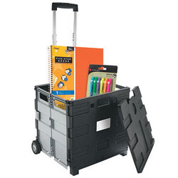 office rolling cart. Rolling Collapsible File Cart Office