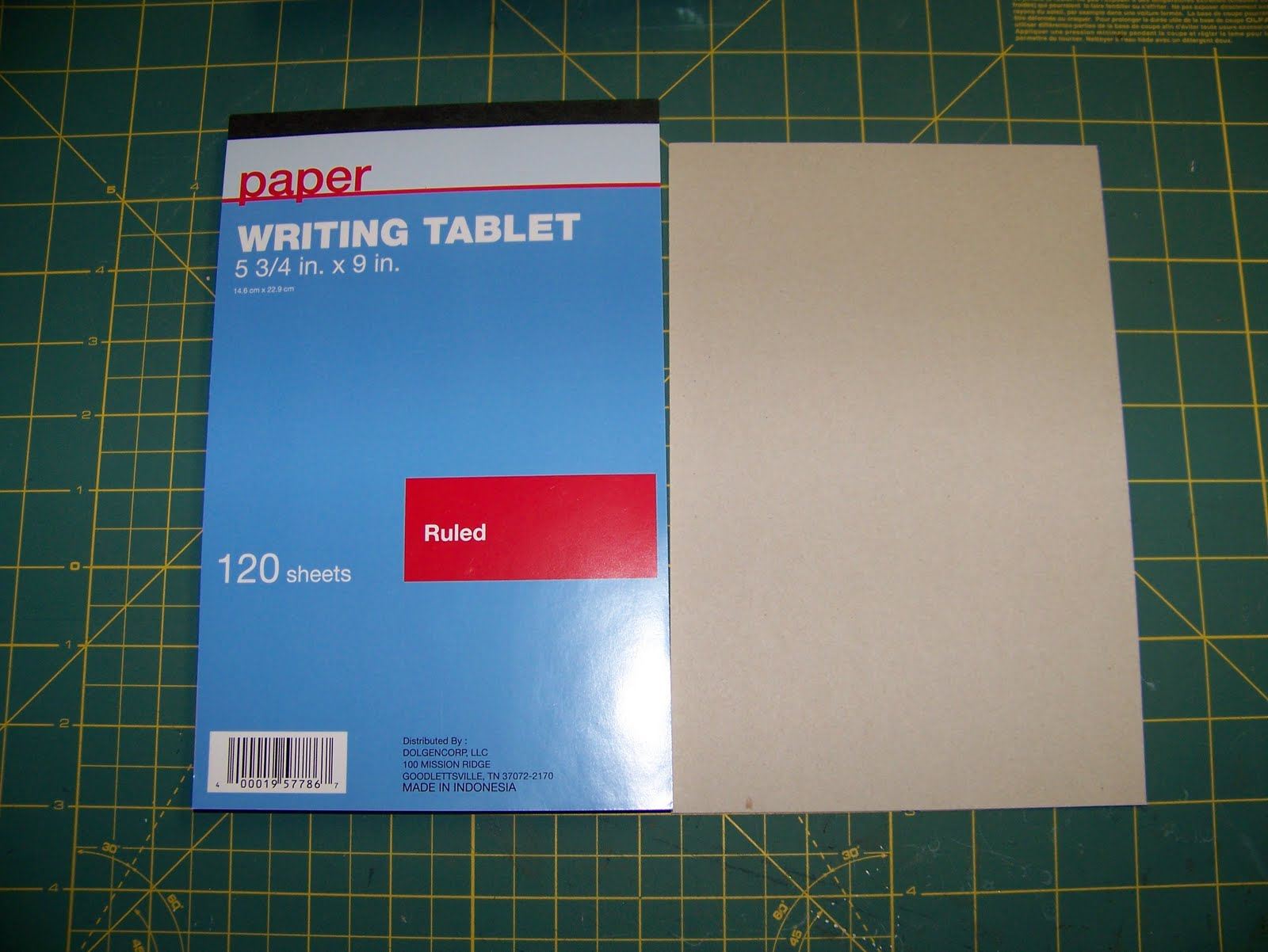 Scrapbook paper dollar general - I Purchased This Tablet From My Local Dollar General It Measures 5 3 4 X 9