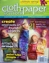 Cloth, Paper, Scissors - Jan/Feb 2009 issue