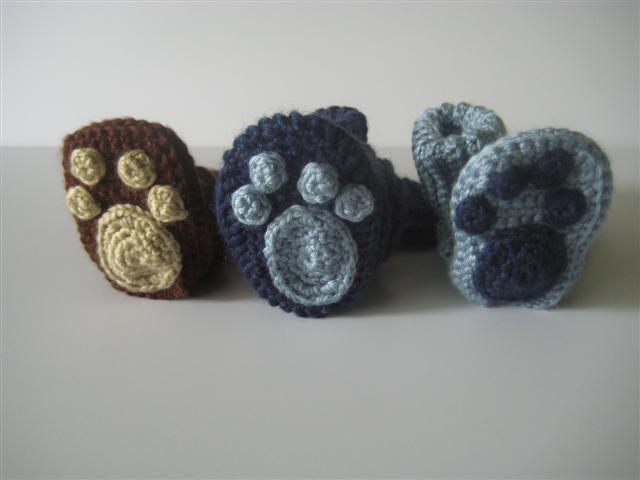 Free Crochet Pattern For Paw Print : Sweet City Knits