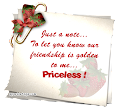 PRICELESS FRIENDSHIP