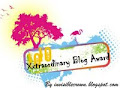 XXTRAORDINARY BLOG AWARD