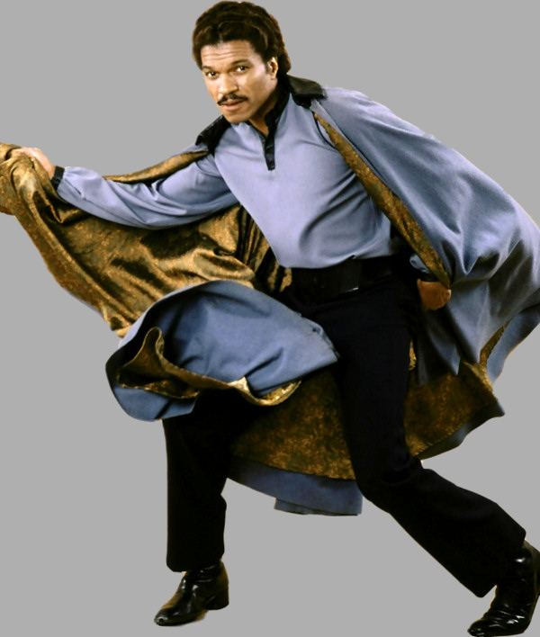 Talk smooth like Lando Calrissian