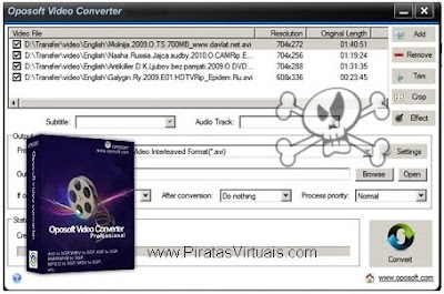 Lançamentos 2012 Downloads Oposoft Video Converter Professional 6.0
