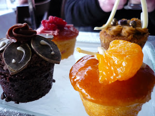 cupcakes at the hilton