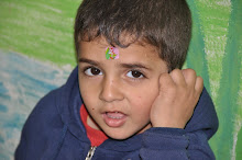 A child in treatment at Princess Basma