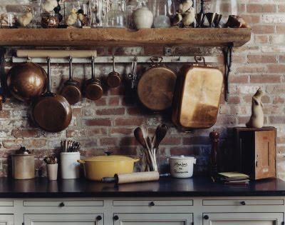 Lalole blog diciembre 2010 for Repisas rusticas para cocina