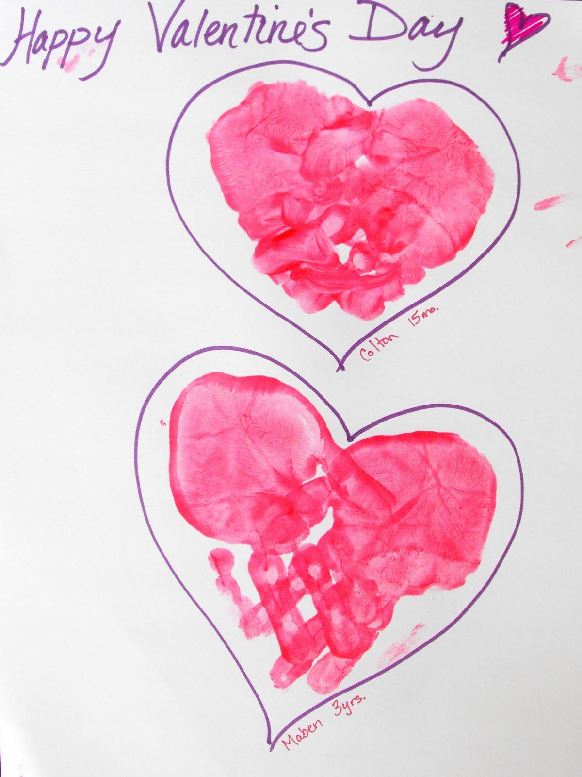 erin u0027s creative energy hand print hearts