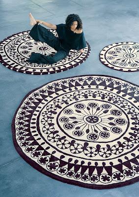 Black and white carpets galiana street - Nani marquina alfombras ...
