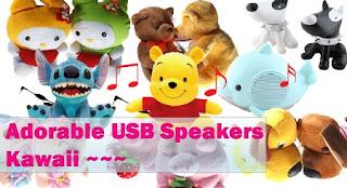 Adorable USB Powered Speaker