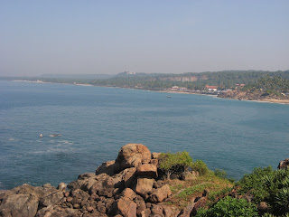 View from near Leela Hotel