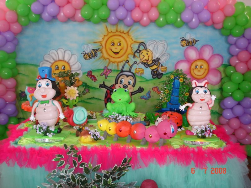 decoracao jardim encantado festa infantil:Toque Mágico decoração de festa infantil: Jardim encantado