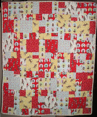 Crazy Eights Baby Quilt Pattern Sewing Patterns For Baby