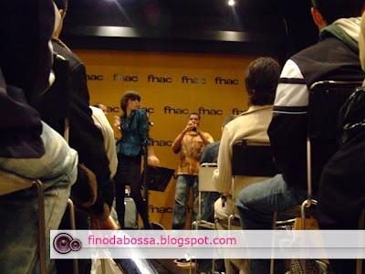 pocket show da banda A Euterpia na Fnac Paulista