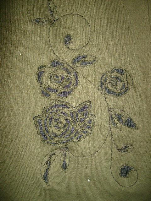 Rose Applique