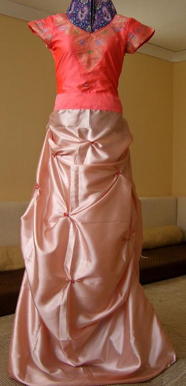 Transformed Shalwar= Ball Gown!