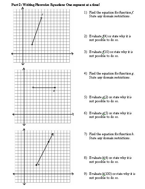 piecewise word problems worksheet with answers worksheets releaseboard free printable. Black Bedroom Furniture Sets. Home Design Ideas