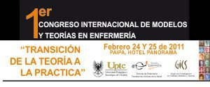 ... and The 1st Int. Congress of Nursing Models and Theories: Colombia 24-25 Feb. 2011