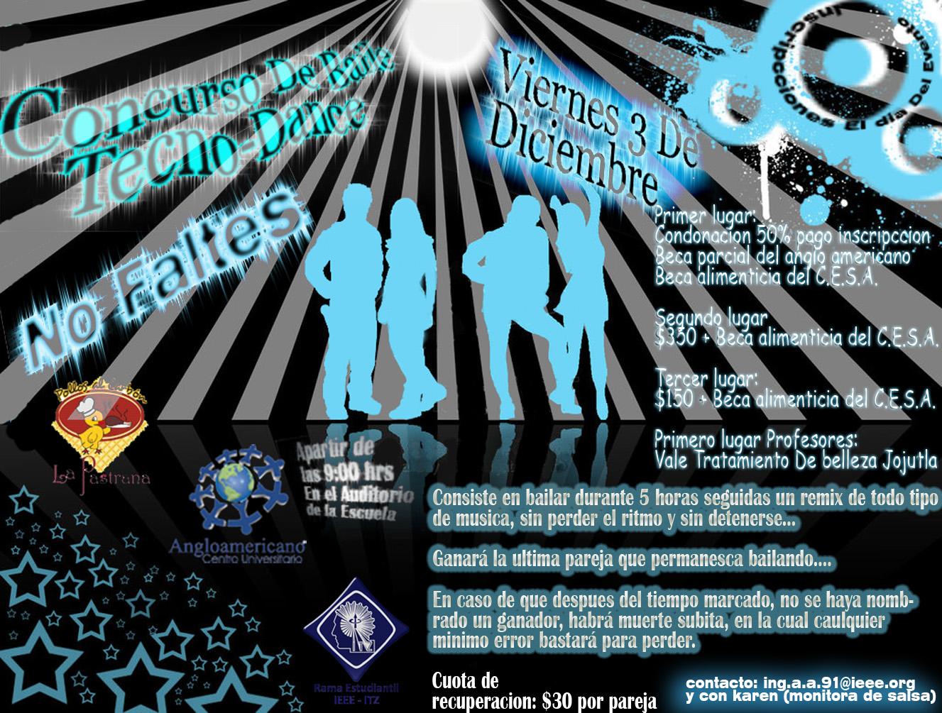 Concurso Tecno Dance