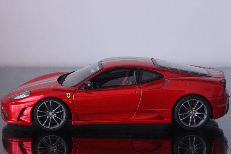 Hotwheels Elite 1 18 Ferrari F430 Scuderia Masterlaoda
