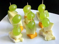 Fruit and Cheese Bites