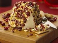 Cranberry Walnut Goat Cheese Pyramid