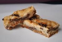 Choco Mint Cookie Bars