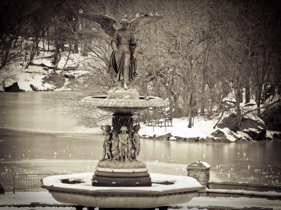bethesda fountain central park nyc. Central Park - The Bethesda
