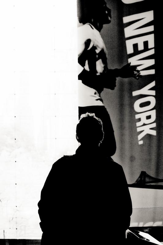 Walk in new york new york en noir et blanc the time Bureau blanc et noir