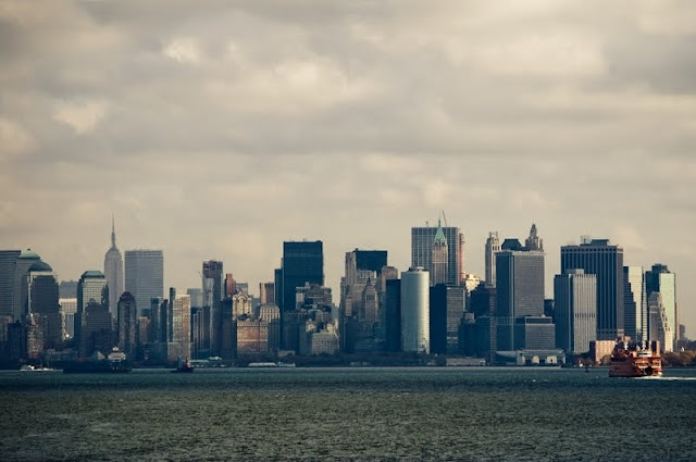 Walk In New York - Skyline Manhattan vue depuis Staten Island
