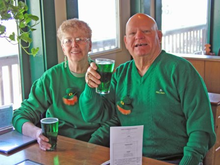 EVENT - GREEN BEERS at Sarah's Cafe