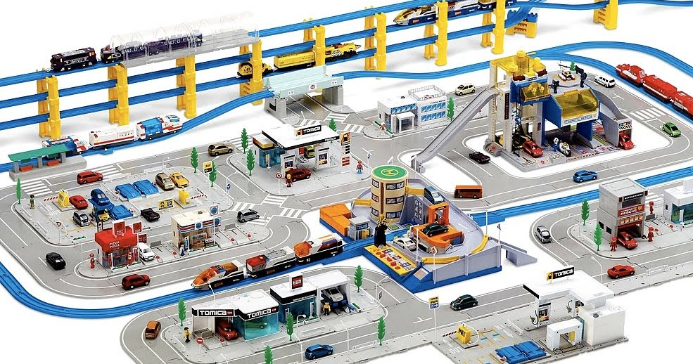 Scale Model News Tomica Hypercity A Playset For Junior