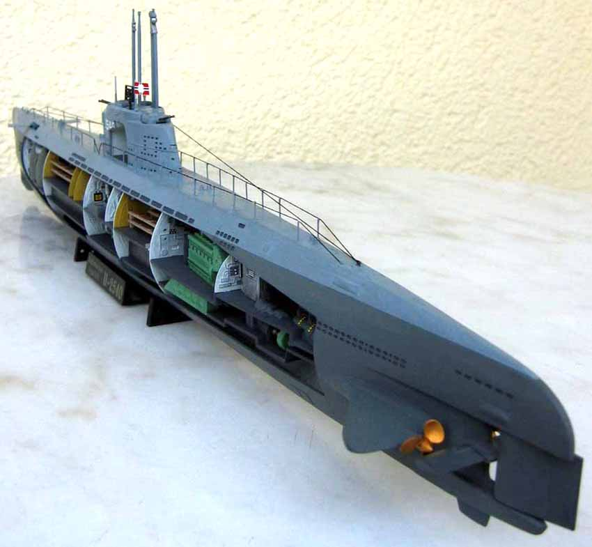 Model+Boat+Kits BOAT SUBMARINE CUTAWAY KIT FROM REVELL ~ Megamag 2