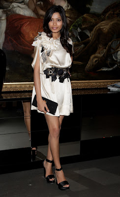 Dolce&Gabbana Vip Room in Milan: Freida Pinto