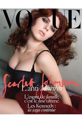 Scarlett Johanson portada del Vogue Paris Abril 09
