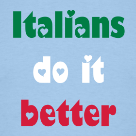 """Italian"" is not a nationality but a compliment"