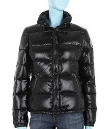 moncler black puffy jacket