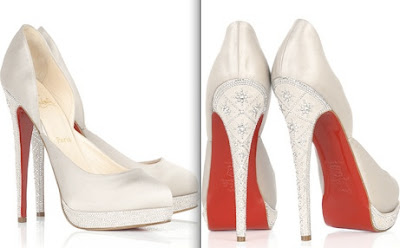 christian louboutin eugenie satin pumps