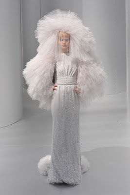 chanel wedding gown from the fall 08 collection