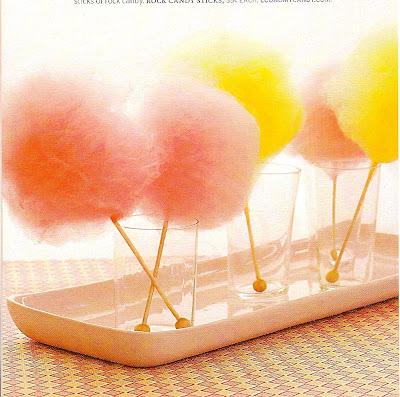 cotton candy from martha stewart weddings magazine