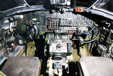 B-24 cockpit