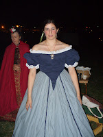 Civil War Reenactor ball