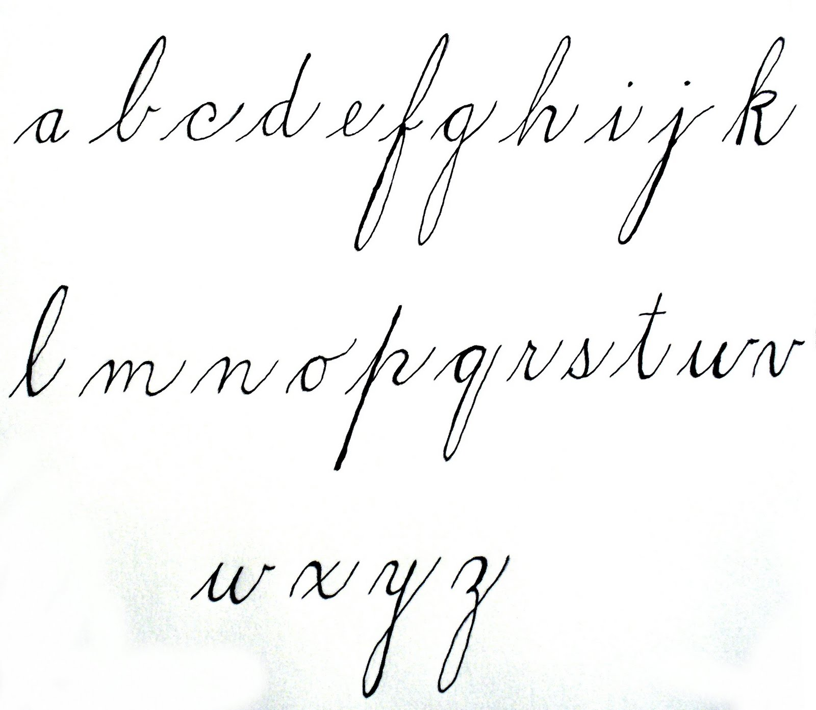 World Turn 39 D Upside Down Spencerian Ladies 39 Hand Mid