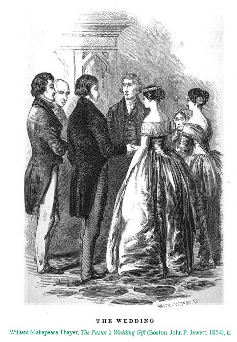 Man 1800s. Marriage in the mid-1800s was