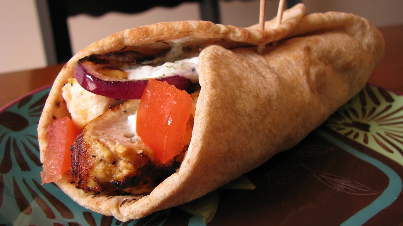 It's All About The Food: Chicken Souvlaki Gyros