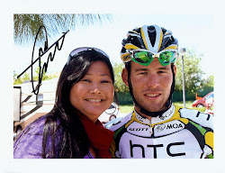 Mark Cavendish & me