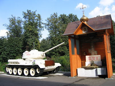 Russia: More Military and Church!